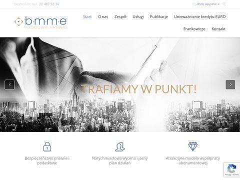 BMME kancelaria radców prawnych Warszawa