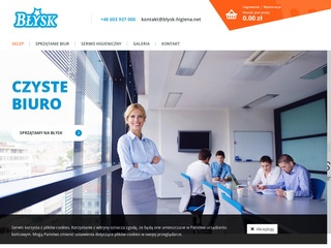 Blysk.net sprzątanie