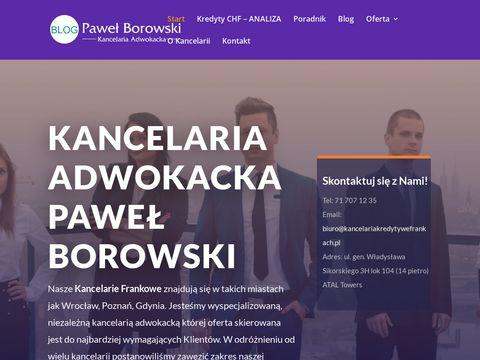 Blog-adwokatpawelborowski.pl