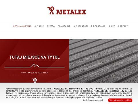 METALEX schody strychowe