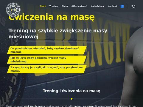 Cwiczenianamase.pl - trening, dieta