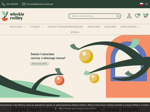 Cytrusy.com.pl sklep z roślinami