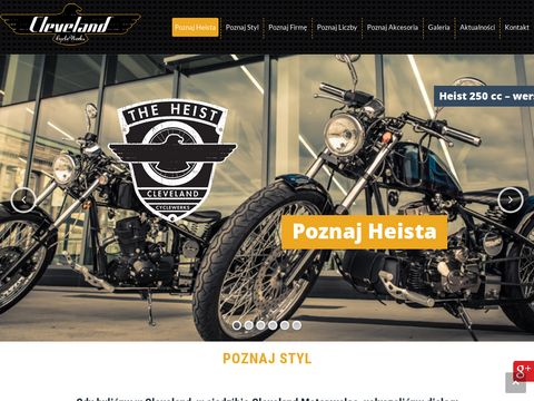 Ccw.com.pl Cleveland motocykle 125 Heist