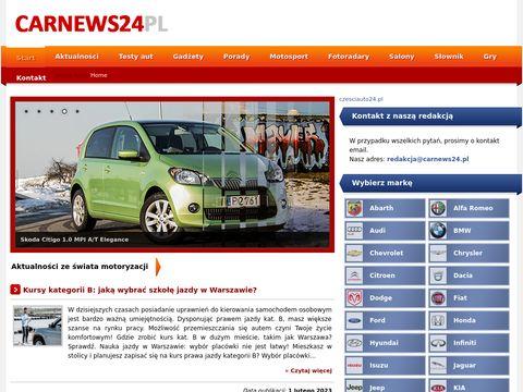 Carnews24.pl - Z pasji do motoryzacji