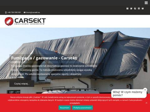 Carsekt.pl deratyzacja