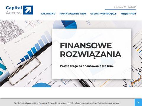 Capital Access finansowanie firm