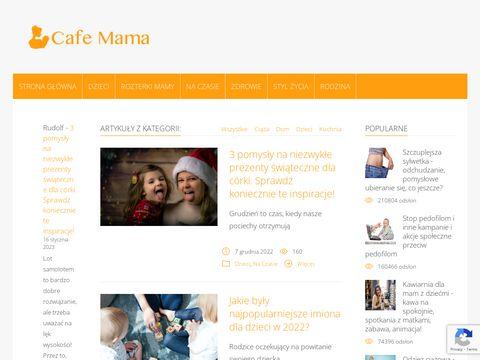 Cafe-mama.pl - powrót do formy po ciąży porady