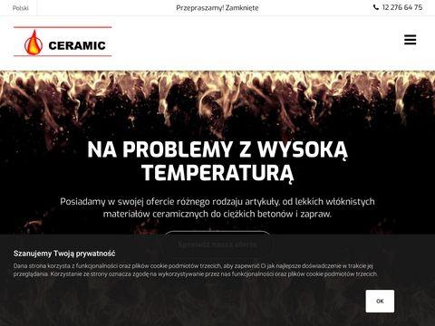 Ceramic - zaprawa ognioodporna