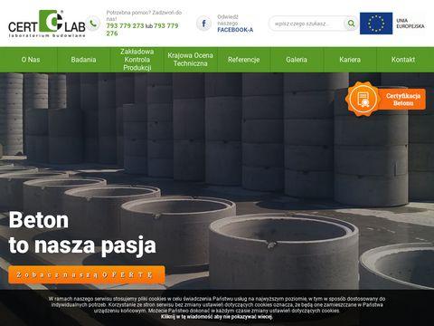 Cert-lab Zakładowa kontrola produkcji