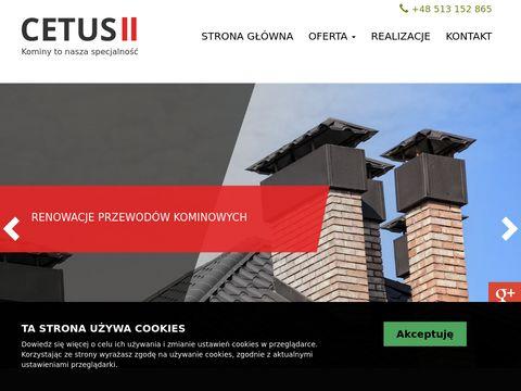 Cetus-II uszczelnianie komina Śląsk