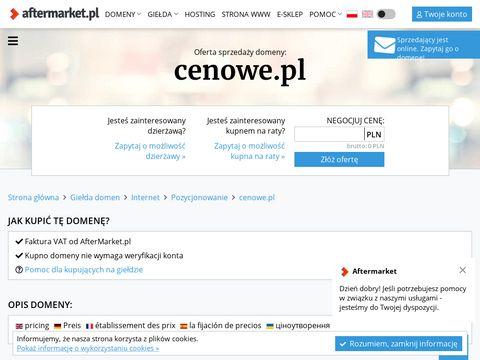 Cenowe.pl - wyszukiwarka najlepszych cen