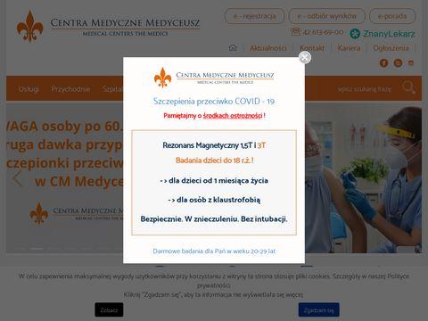 Www.centramedycznemedyceusz.pl
