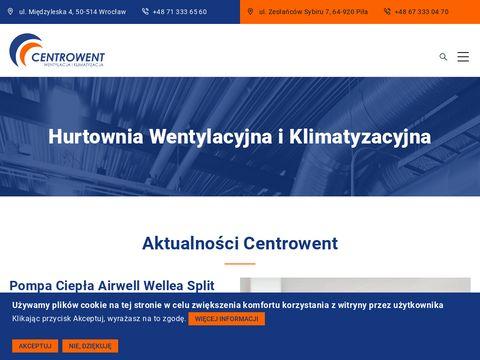 CENTROWENT Kompletacja instalacji wentylacyjnych