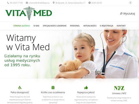 Centrum Medyczne Vitamed stomatolog Białystok