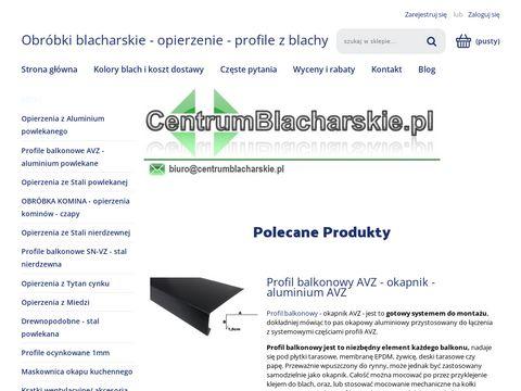 Centrumblacharskie.pl opierzenie dachu