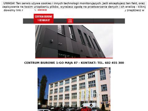 Centrum-biurowe.info.pl biura do wynajęcia Łódź