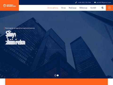 Centrum technologii koncepcje programowo-przestrzenne