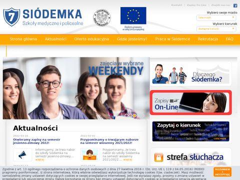 Ce7.pl centrum edukacji Siódemka