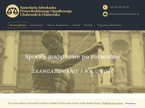 Cjkancelaria.pl adwokat i radca prawny Gdynia