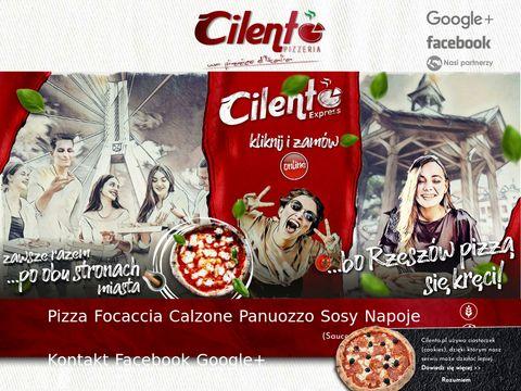 Cilento.pl - włoska pizza z pieca