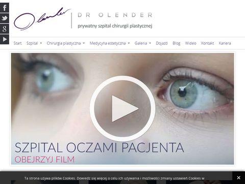Chplast.com.pl powiększanie piersi dr Olender