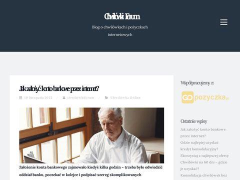 Chwilowki-forum.pl o pożyczkach