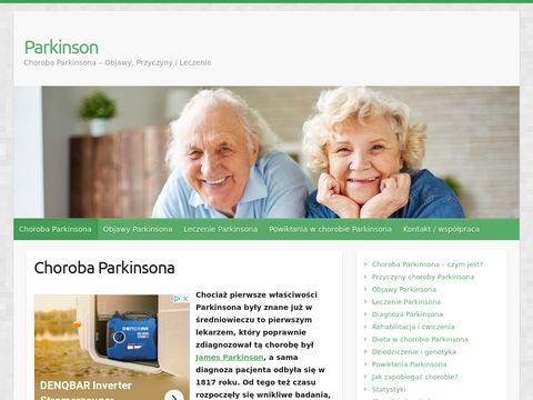 Chorobaparkinsona.net Strona o Chorobie Parkinsona
