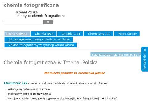Chemia-fotograficzna.pl od Tetenala
