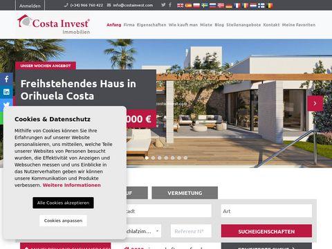 Costainvest.com - inwestycje w Hiszpanii