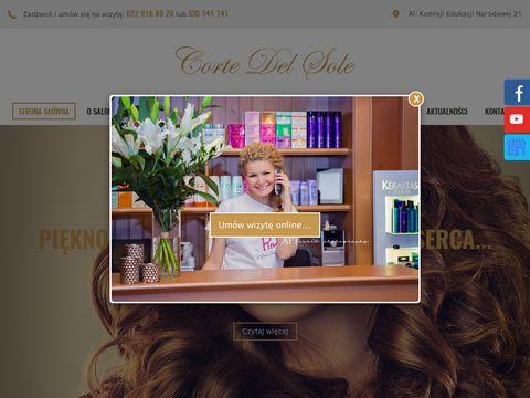 Corte Del Sole salony fryzjerskie kabaty