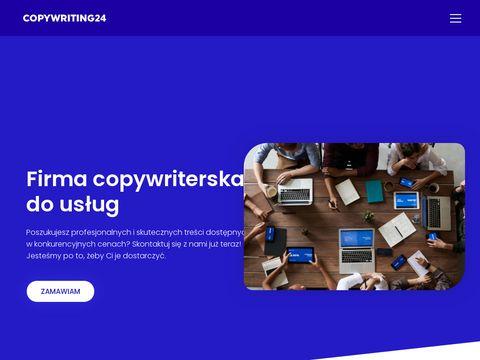 Copywriting24.pl - teksty reklamowe