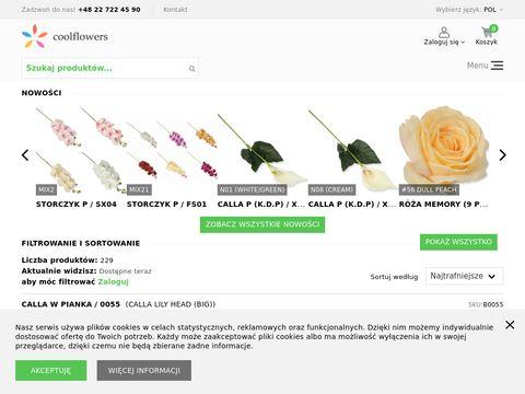 Coolflowers.pl dystrybucja kwiatów i roślin sztucznych