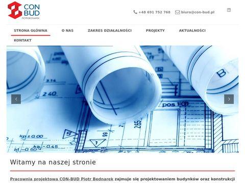 Con-bud pracownia projektowa - projekty budynków