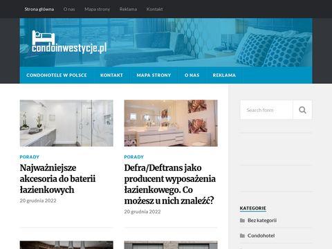 Condoinwestycje.pl - zainwestuj w apartament