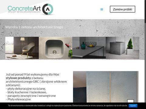 Concreteart.pl - beton architektoniczny