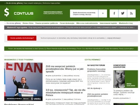 Contuus.pl - broker nieruchomości