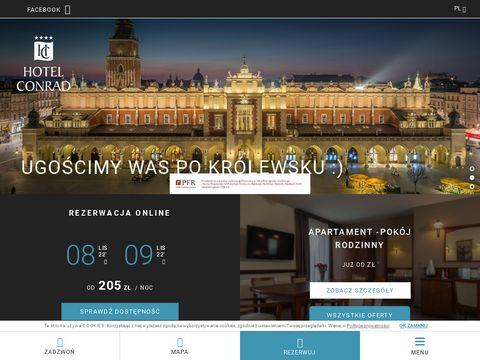 Conrad hotel czterogwiazdkowy w Krakowie