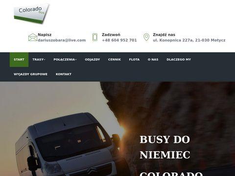 Coloradobus.pl do Niemiec