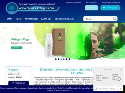 Colway-kolagen.com - kolagen naturalny sklep