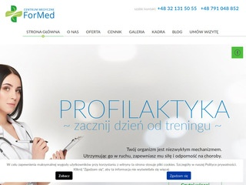 Cmformed.pl badania katowice