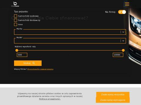 Clicklease.pl leasing i wynajem samochodów