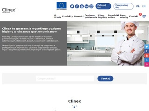 Clinex.com.pl profesjonalna chemia