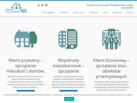 Cleanup-pro.pl sprzątanie biur