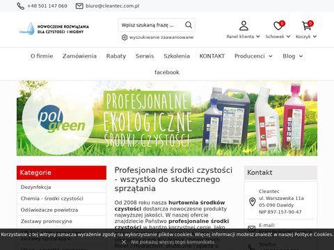 Maszyny czyszczące - środki czystości