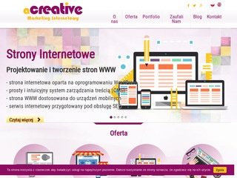 A-creative.pl pozycjonowanie regionalne