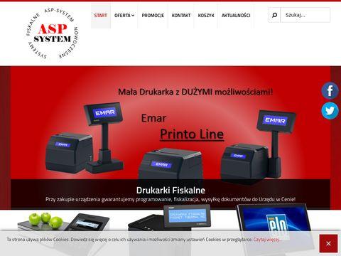 Asp-system.pl drukarki kasy fiskalne