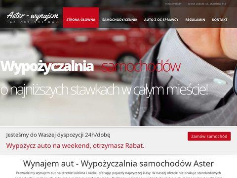 Aster-wynajem.pl długoterminowy samochodów