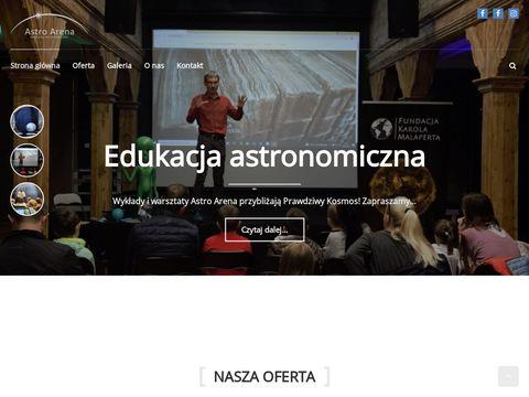 Astroarena.pl przenośne planetarium