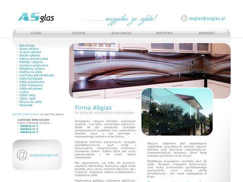Asglas.pl szklane balustrady