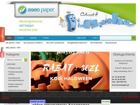 Aseo Paper Sp. z o.o. czyściwo papierowe